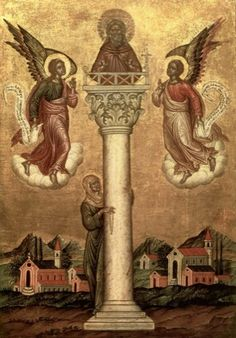 MYSTAGOGY: St. Symeon the Stylite According To Evagrius Scholasticus