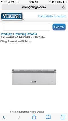 """30"""" Warming Drawer"""