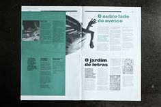 Lura Publication | Lura is a newspaper sized Trimestral Publication that focuses on educational events for children, visitors of the Centro Cultural Vila Flor, Guimarães. | Designers: Atelier Martino & Jaña | Image 14 of 15