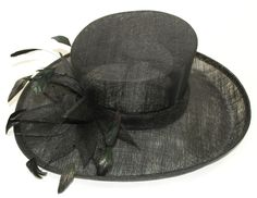 GIZZY® Ladies One Size Black Sinamay Wedding Occasion Hat with Flower Design http://www.ebay.co.uk/itm/GIZZY-Ladies-One-Size-Black-Sinamay-Wedding-Occasion-Hat-with-Flower-Design-/121401075551?pt=UK_Formal_Fascinators&hash=item1c4411675f