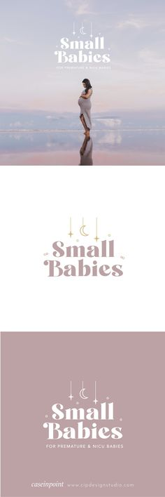 Branding package redesign for Small Babies New Zealand by Case In Point Design Studio. Graphic Design Branding, Logo Design, Premature Baby, Small Baby, Nicu, Brand Packaging, Business Branding, Design Agency, Service Design