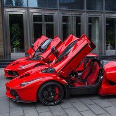 Double trouble.  #ferrari #laferrari #amazingcars247