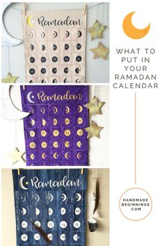 Ramadan is quickly approaching, and I often get asked what are some ideas of things to put in the handmade Ramadan Calendars that I make. So my daughter helped me put together this video just for you! We hope… Eid Ramadan, Ramadan Gifts, Ramadan Mubarak, Ramadan For Kids, Eid Mubrak, Ramadan Cards, Advent Calendar Gifts, Advent Calenders, Diy Calendar