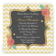Discount DealsChic Chevron and Floral Bridal Shower InvitationYes I can say you are on right site we just collected best shopping store that have