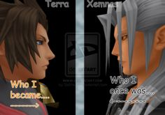 Honestly I prefer Xemnas to Terra.