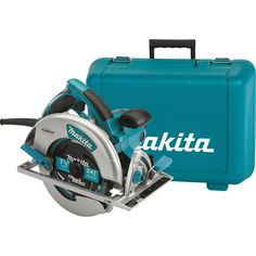 Makita 15 Amp 7-1/4 in. Corded Lightweight Magnesium Circular Saw with LED Light, Dust Blower, 24T Carbide blade, Hard Case-5007MG - The Home Depot