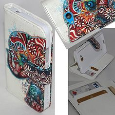 Lumia 640 Case, Microsoft Lumia 640 LTE Wallet Case - SOGA® PU Leather Magnetic Flip Design Wallet Case for Microsoft Nokia Lumia 640 LTE (AT&T, T-Mobile, Metro PCS) - Exotic Elephant [SWA299] SoGa http://www.amazon.com/dp/B010UBFZU8/ref=cm_sw_r_pi_dp_XTeIwb192599E