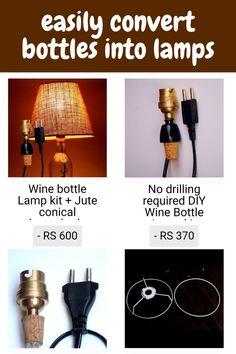 #lamp #design #interiordesign #light #lighting #homedecor #interior #lamps #led #art #lights #vintage #decor #decoration #handmade #lightingdesign #home #photography #architecture #tablelamp #bottleart #furniture #lampe #homedesign #bottle #love #lampu #lampdesign #interiors #bottlelamp Lamp Design, Lighting Design, Led Art, Homedesign, Bottle Art, Lampshades, Diy Tutorial, Table Lamp, Tutorials