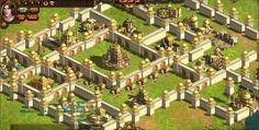 احدى المدن الرائعة من الحضارة البابلية في لعبة أرض المعارك