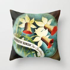 Tin Throw Pillow by Post Haste Art - $20.00
