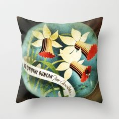 Tin Throw Pillow by Post Haste Art - $20.00