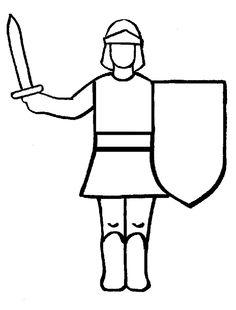 Ritter Ausmalbilder für Kinder: Ritter Ausmalbilder für Kinder 5861