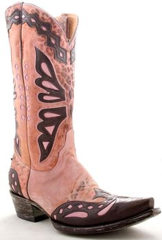 Everyone should have a pair of PINK Cowboy Boots :)