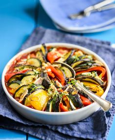 Ratatouille, Vegetable Pizza, Food And Drink, Salad, Vegetables, Eat, Anna, Ethnic Recipes, Glute