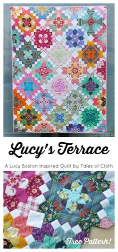 Free Patchwork of the Crosses pattern by Tales of Cloth.
