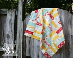 Quilt Story: Jelly Roll Jam Free Quilt Pattern