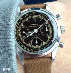 Vintage watch value growth: Tulip Mania or steady buying frenzy? Old Watches, Gents Watches, Sport Watches, Wrist Watches, Vintage Rolex, Vintage Watches, Seiko Chrono, Rolex Tudor, Amazing Watches