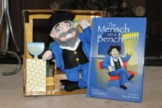 Mensch on a Bench - take that Elf on a Shelf