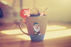Cup of Cacricature  http://www.saricizgi.com