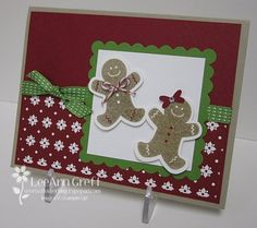 Scented Gingerbread Couple----