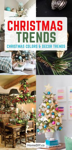 Christmas Trends Christmas Colors and Decor Trends. Want to welcome the holiday in some special and stylish way? We are happy to tell you about the Christmas décor trends. Save and be inspired! Christmas Trends, Christmas Colors, All Things Christmas, Christmas Tree Decorations, Holiday Decor, Christmas Décor, Christmas Crafts, Diy Hanging Shelves, Diy Wall Shelves