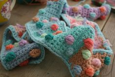 Crocheted dots