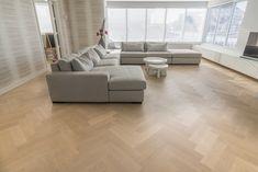 Een prachtige Bauwerk Quadrato Eiken Crema vloer