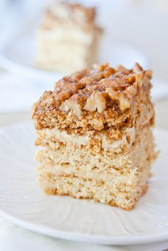 Polish cakes - Honey Cake  (Miodownik)