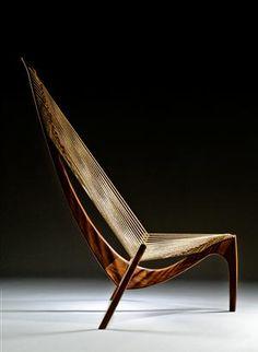 Harpen lounge chair Jørgen Høvelskov designed 1962.