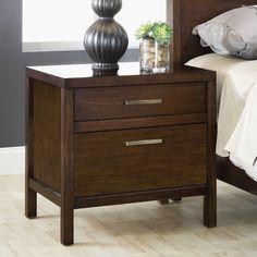 Modus Furniture Uptown 2 Drawer Nightstand