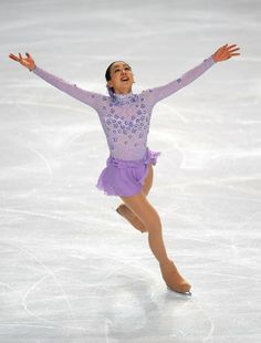 Mao Asada - Trophee Eric Bompard ISU Grand Prix of Figure Skating 2010 - Day Two