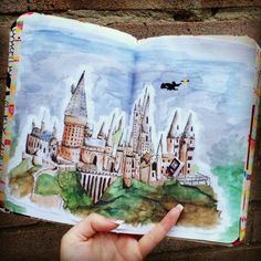 Potter Frenchy Party - DIY - wreck this journal - saccage ce carnet - harry…