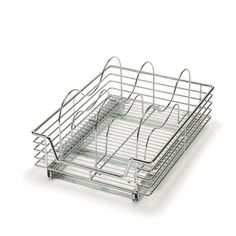 Household Essentials in. Tension-Mount Dividers for Glidez Under-Cabinet Organizers, Chrome - The Home Depot in. Tension-Mount Dividers for Glidez Under-Cabinet Organizers, Chrome Silver Metallic Under Cabinet Storage, Kitchen Cabinet Organization, Cabinet Organizers, Shelving Racks, Rev A Shelf, Door Organizer, Pull Out Drawers, 6 Pack, Storage Spaces