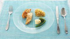 Portion-Control Glass Plates