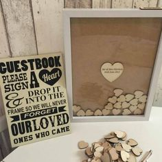 Such a cute idea for a guestbook.... I think I will save this for my 50th…