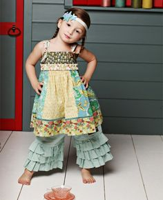 Matilda Jane ~ Serendipity ~ SWISS MISS PANELED KNOT DRESS #matildajaneclothing #MJCdreamcloset