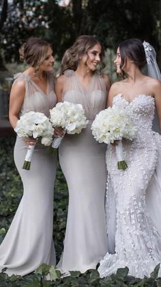 Budget Bridesmaid Dresses, Bridesmaid Outfit, Wedding Dresses, Bridesmaids, Mermaid Prom Dresses, Wedding Inspiration, Wedding Ideas, Birthday Messages, Long Dresses