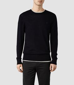 Explore our range of men's knitwear and jumpers. Jumpers, Knitwear, Crew Neck, Grey, Long Sleeve, Mens Tops, Shopping, Fashion, Gray