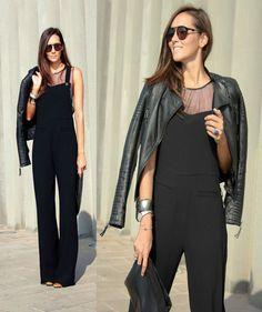 b38dcaffb06 Zara Black Pinafore Piped Pocket Dungarees - Beautiful Wardrobe. Beautiful  Wardrobe · Zara Jumpsuits Playsuits