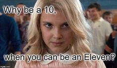 Eleven - Stranger Things Meme Generator - Imgflip