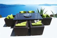 modern outdoor patio dining sets - Google Search
