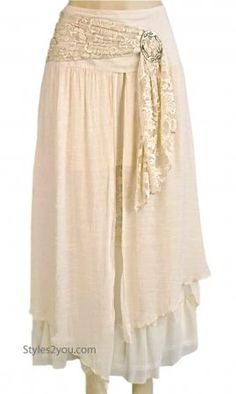Alabama Ladies Vintage Victorian, Western Belted Skirt Carmel Pretty Angel Clothing Antique Belted Long Skirt In Coffee Pretty Angel Skirt] Skirt Fashion, Boho Fashion, Fashion Outfits, Vintage Fashion, Pretty Angel Clothing, Moda Hippie, Cheap Skirts, Skirt Belt, Linens And Lace
