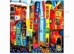 Quadri per bambini Strada magica #quadri #quadro