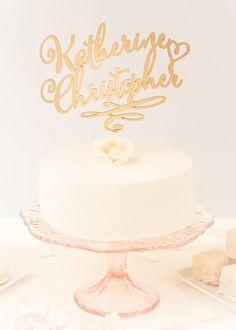 Custom cake topper by Better Off Wed www.betteroffwed.co