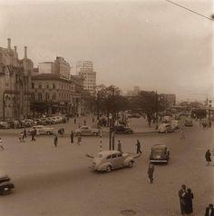 Praça João Mendes. 1945/1950. Hagop. G. São Paulo do Passado