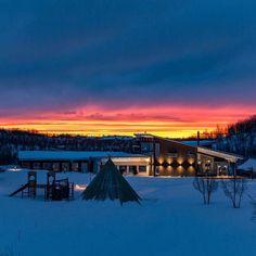 """Gefällt 126 Mal, 9 Kommentare - @campripan auf Instagram: """"Vi har haft fantastiskt vackra soluppgångar den senaste tiden! An other beautiful sunrise in our…"""""""