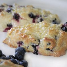 Tyler Florence blueberry scones with lemon glaze. Delicious!!!