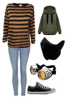 """Toby"" by bleeding-neverland on Polyvore featuring Topshop, Edith A. Miller and Converse"
