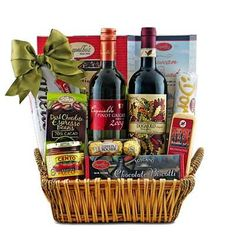 Have to have it. Taste of Tuscany Italian Wine Gift Basket $99.99