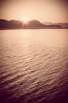 #Croatia, #Mljet island - Beautiful #sunrise just beyond the #mountains!